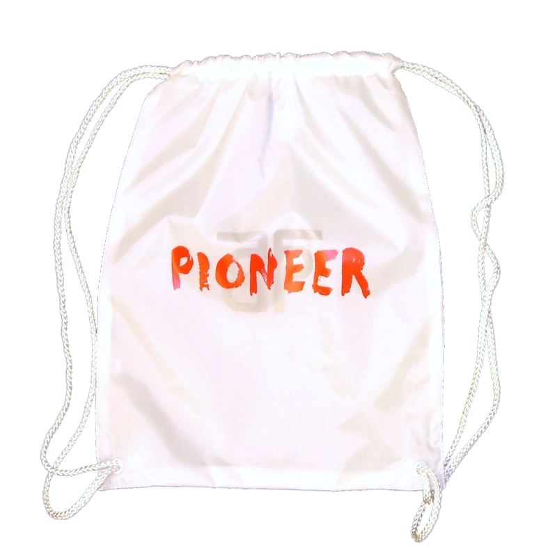 The Band Perry White Drawstring Backpack