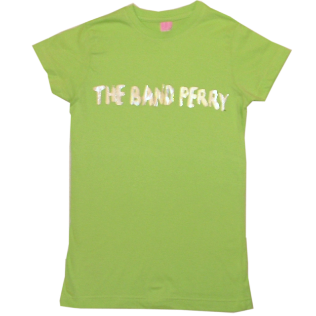 The Band Perry Ladies Key Lime Green Tee