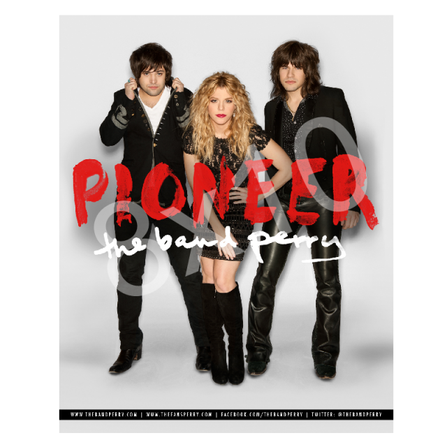The Band Perry 8x10