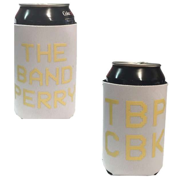 The Band Perry Light Grey Koozie